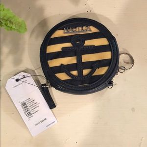 NWT Nautical Coin Purse!
